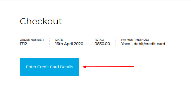 Enter credit card details button